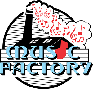 Music Factory Record Label Logo Vector
