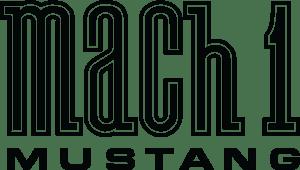 Mustang Mach 1 Logo Vector