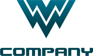 MW or WM Logo Vector