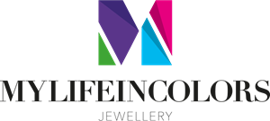 My life in colors Jewellery Logo Vector