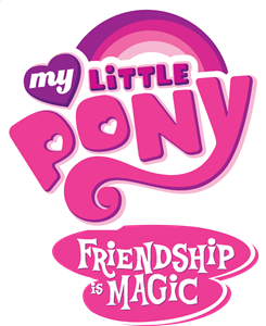 My Little Pony Friendship is Magic Logo Vector