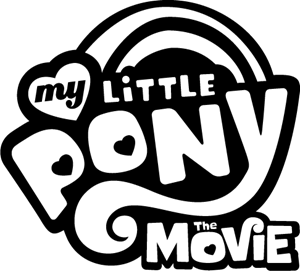 My Little Pony The Movie Logo Vector