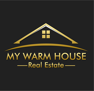 My warm house Logo Vector