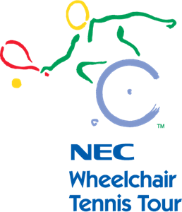 NEC Wheelchair Tennis Tour Logo Vector