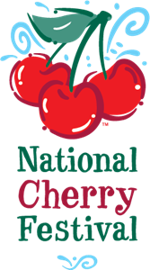 National Cherry Festival Logo Vector