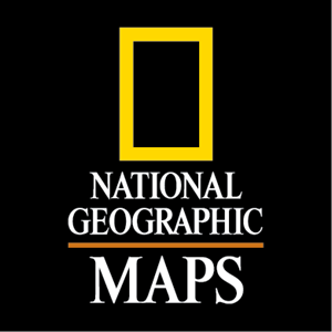 National Geographic Maps Logo Vector