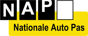 Nationale Auto Pas Logo Vector