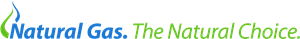 Natural Gas. The Natural Choice. Logo Vector