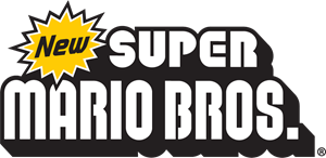 New Super Mario Bros Nintendo Logo Vector