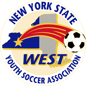 New York State West Youth Soccer Association Logo Vector