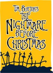 Nightmare before Xmas Logo Vector