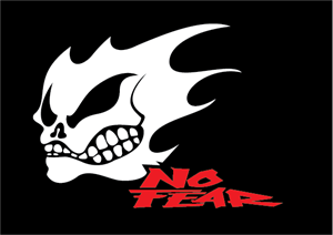No Fear Logo Vector