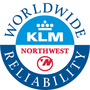 Northwest Airlines / KLM Logo Vector