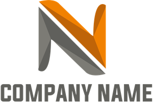 N Letter Company Logo Vector