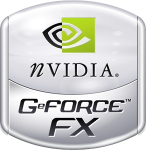 nVIDIA GeForce FX Logo Vector