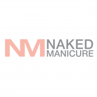 Naked Manicure Logo Vector