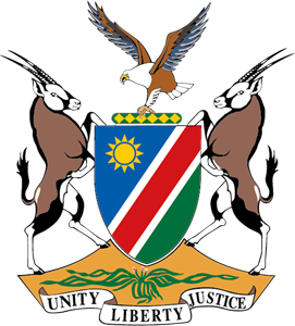 Namibia Coat of Arms Logo Vector