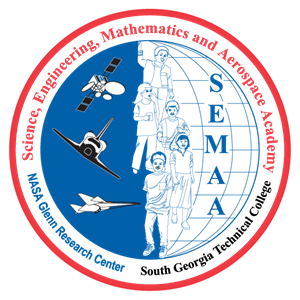 NASA SEMAA Logo Vector
