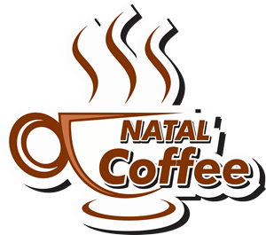 Natal Coffee Logo Vector