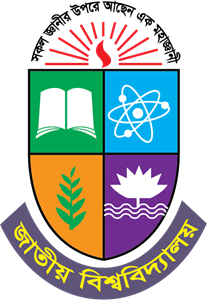 National University of Bangladesh Logo Vector