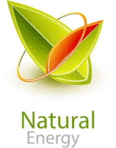 Natural Energy Logo Vector