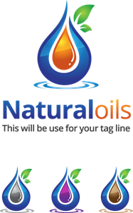 natural oils Logo Vector