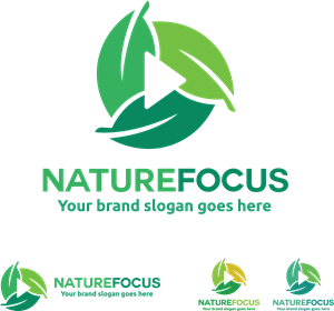 nature focus Logo Vector