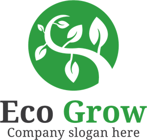 Nature growth Logo Vector