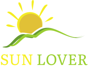 Nature Sun Lover Logo Vector