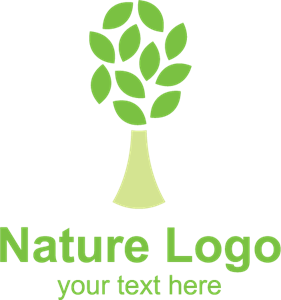 Nature Tree Logo Vector