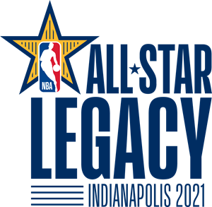 NBA All-Star 2021 Legacy Project Logo Vector