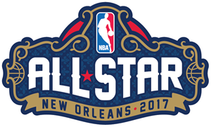 NBA All-Star Game Logo Vector