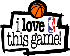 nba i love this game Logo Vector