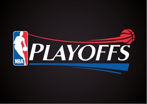 NBA Playoffs Logo Vector