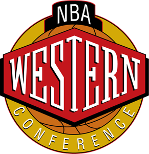 NBA Western Conference Logo Vector