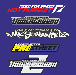 need for speed Logo Vector