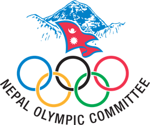 Nepal Olympic Committee Logo Vector