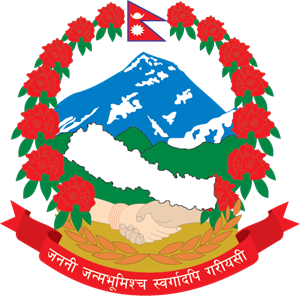 nepal coat of arm Logo Vector