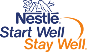 nestle start well stay well Logo Vector