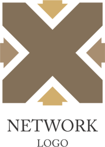 Network Hotel Logo Vector