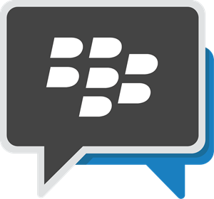 New Blackberry Messenger Logo Vector