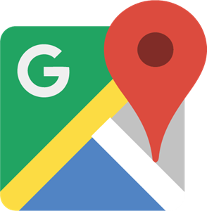 New Google Maps Icon Logo Vector