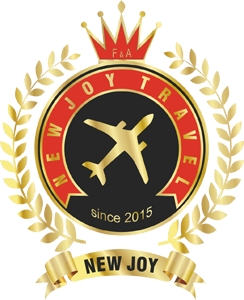 new joy travel Logo Vector