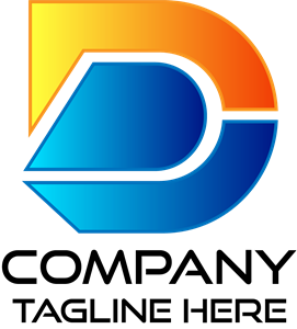 New Look Unique Modern Letter D Logo Vector
