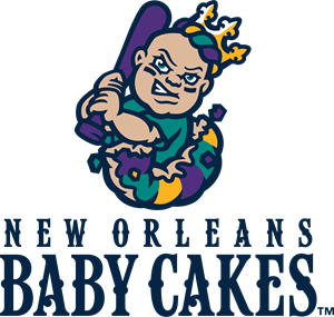 New Orleans Baby Cakes Logo Vector
