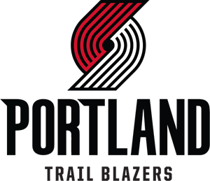 New Portland Trail Blazers Logo Vector