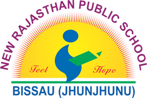 New Rajasthan School Bissau Logo Vector