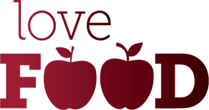 New World Love Food Logo Vector