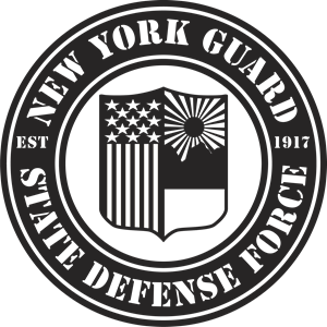 New York State Guard (black) Logo Vector