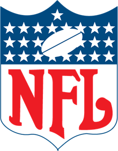 Nfl logo (gold) download ai all vector logo.